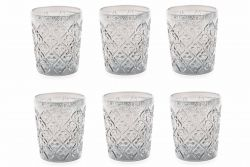 Wasserglas Marrakesch 6er-Set | Transparent