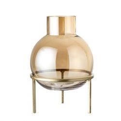 Vase Verre | Brun