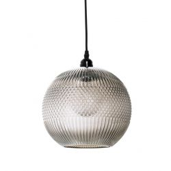 Pendant Lamp Cosy | Brown & Glass