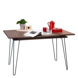 Table Extensible Aero | Noyer