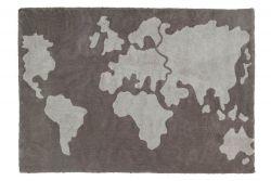 Washable Rug | World Map