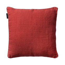 Raw cushion cover | Coral Red