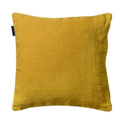 Raw cushion cover | Mustard Yellow