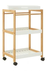 3 Tier Trolley Nostra | White