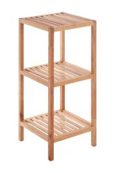 3 Tier Bathroom Shelf | Walnut Wood