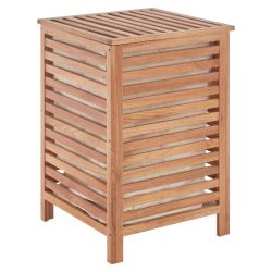 Laundry Hamper | Walnut Wood