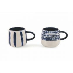 Mug Masai Set of 2 | Blue