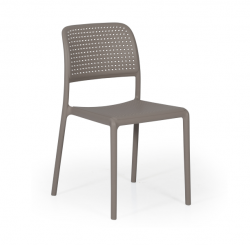 Stackable Chair Bora Bistrot | Taupe