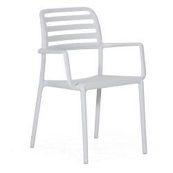 Chaise Empilable Garonne | Blanc