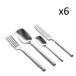 Cutlery Set Heii | 24 Pieces | Silver