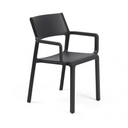 Stackable Armchair Trill | Anthracite