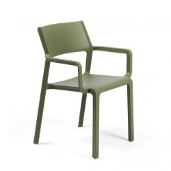 Stackable Armchair Trill | Green