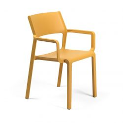 Stackable Armchair Trill | Yellow