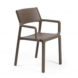 Stackable Armchair Trill | Brown