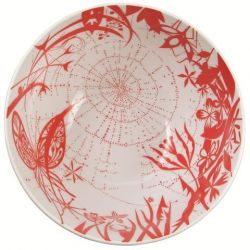 "Salad Bowl ""Spider"" Red"