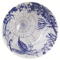 "Salad Bowl ""Spider"" Blue"