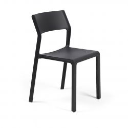 Stackable Chair Trill  | Anthracite