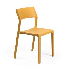 Chaise Empilable Trill | Jaune