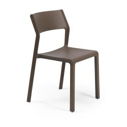 Stackable Chair Trill  | Brown