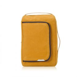 R Bag 100 Wax Canvas | Mustard
