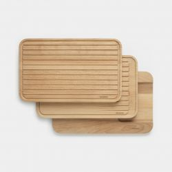 Chopping Boards Set of 3 | For Vegetables, Bread & Meat