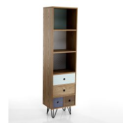Bookshelf Hijo | 4 Drawers