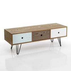 TV Base with Drawers Hijo