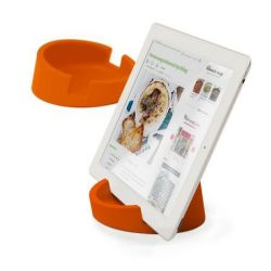 Tablet/Cookbook Stand | Orange