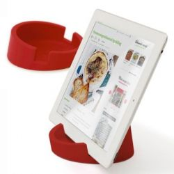 Tablet/Cookbook Stand | Red