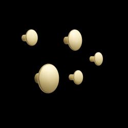 5er Set Dots Metall l Messing