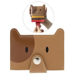 Credit Card Holder Zoo | Brown