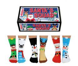 Sokken Boys Santa 6 Paar