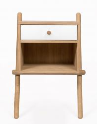 Sidetable Wiru | Oak / White