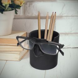 Mr. Tidy Pen & Glasses Holder | Schwarz
