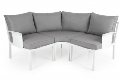Outdoor Lounge Set Morzine | White Frame