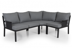 Outdoor Lounge Set Morzine 215 cm + 160 cm | Anthracite Frame