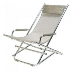 Rocking Beach Chair | Silver