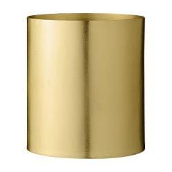 Flowerpot Metal 13 x 14 cm | Gold