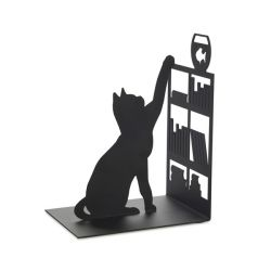 Bookend ,Fishing Cat | Black