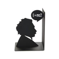 Buchstütze Einstein | Schwarz