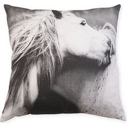 Playing Horses Cushion