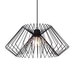 Ceiling Lamp Cage | Black