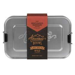 Aluminium-Lunchbox | Silber