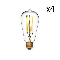 Bulb Edison Led 6 | Set of 4