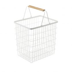 Laundry Basket L Tosca | White