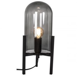 Lampe de Table Smokey | Noir