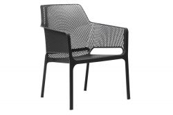 Stackable Armchair Net Relax | Anthracite