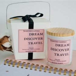 Bougie Candle Oudh | Dream, Discover, Travel