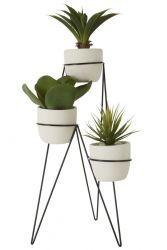 Plant Holder | White