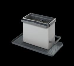 Spülbecken-Organizer Tidytex | Grau
